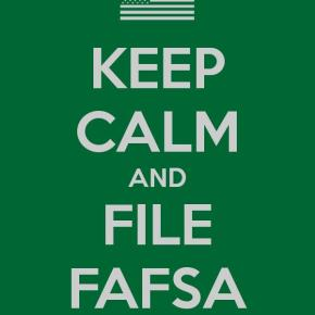 It's FAFSA Time: Information for new college students!